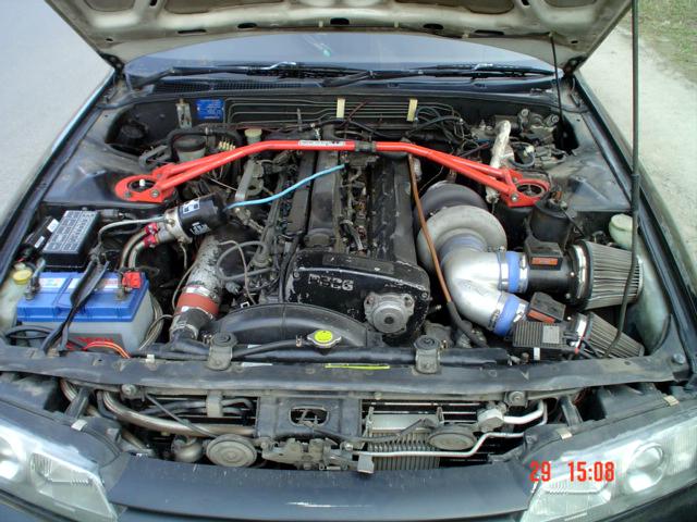 Nissan Skyline GTS-4/HNR32/RB26DETT&Greddy T88-34D.